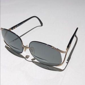 Dior women's bifocal sunglasses black / gold